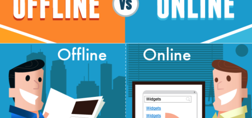 Online marketing is very different