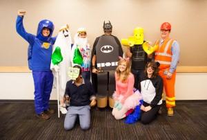LEGO Movie costumes.