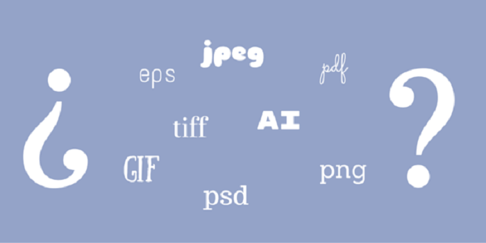 What image formats you use for your logo