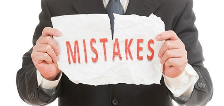 Errors Most Common