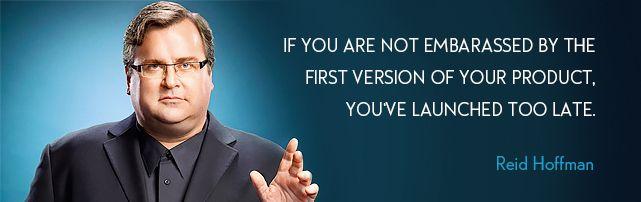 The most valuable advice Reid Hoffman, Co-founder of Linkedin