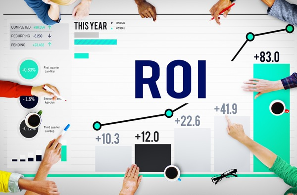 You know companies actually measure the ROI of your content strategy