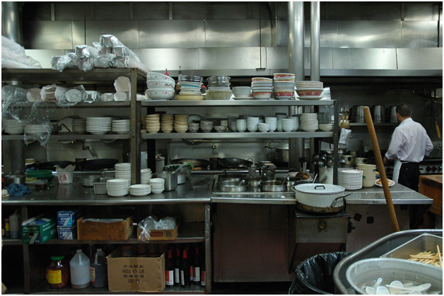 Health and safety in commercial kitchens
